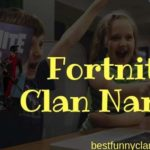 Fortnite Clan Names