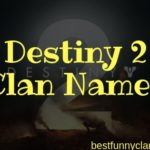 50+ Good, Funny and Creative Destiny 2 Clan Names for Players